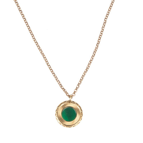 Chrysoprase Portal Necklace