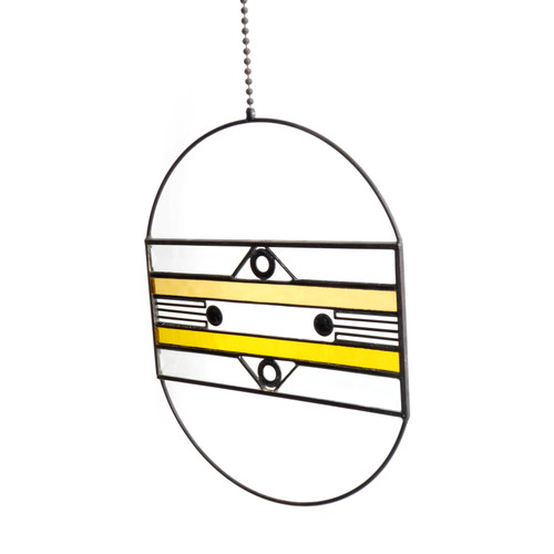 Yellow Aerial Suncatcher