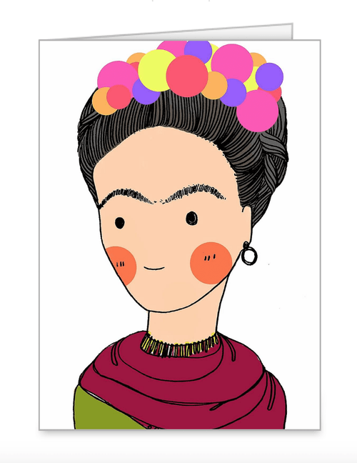Frida Greeting Card