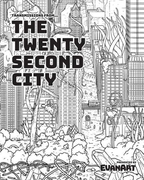 The Twenty Second City Coloring Book