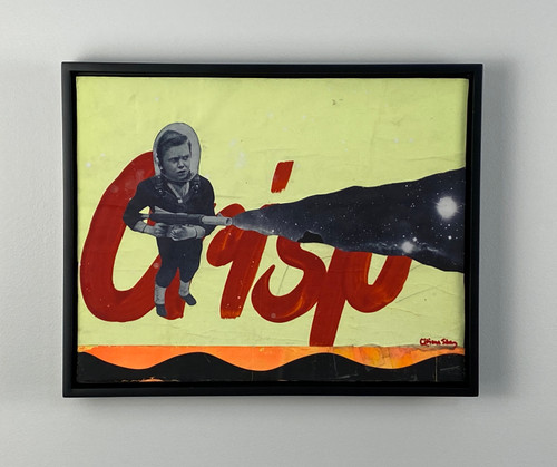 Crisp Framed Collage