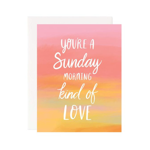 Sunday Morning Love Card