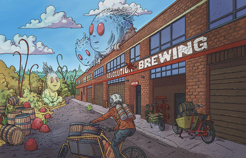 Revolution Brewing 12x16 Fine Art Print