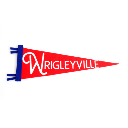 Wrigleyville Pennant