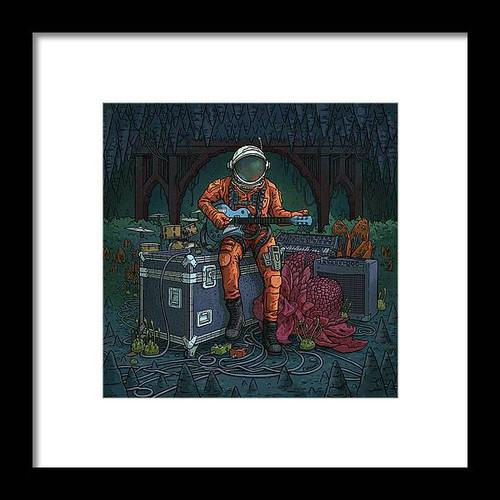 Tune-Up Framed 8x8 Art Print