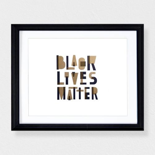 Black Lives Matter 8x10 Print