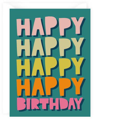 Happy Happy Birthday! Card