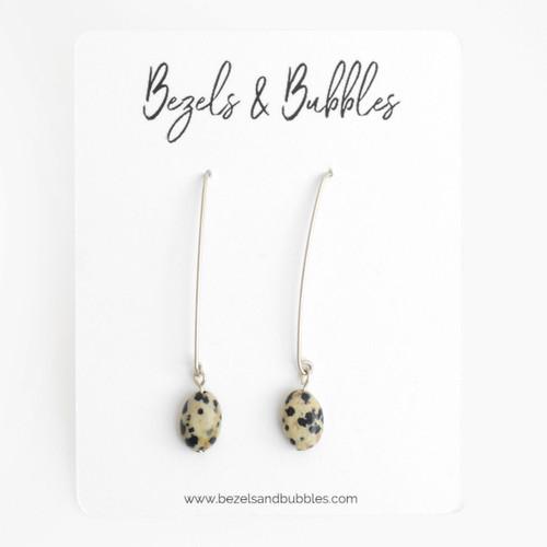 Dalmatian Drop Earrings