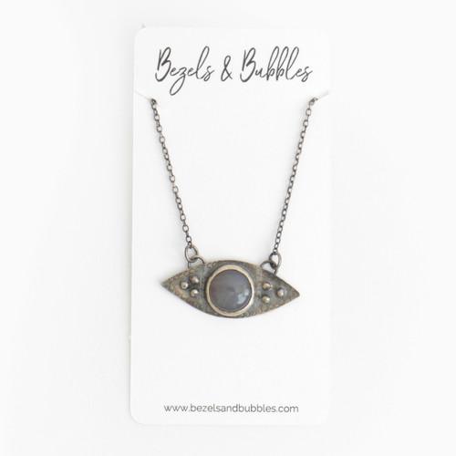 """Third Eye Necklace 16"""" Chain"""
