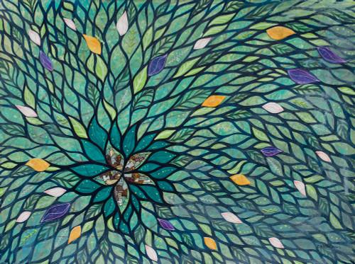 Visiting Artist Series Start Again (Spring) 18x24 Painting