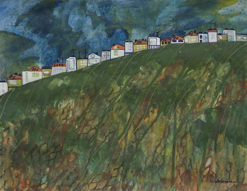 Visiting Artist Series Ridges 11x14 Painting