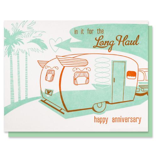 Long Haul Anniversary Card