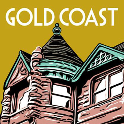 Stately mansions, in turn-of-the-century architectural styles, define the unique character of the Gold Coast.