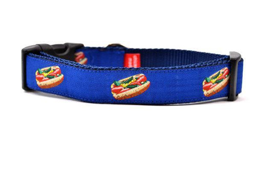 Hot Dog Collar med 12-19""