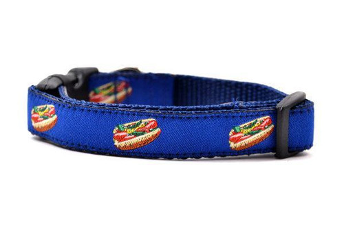 Hot Dog Collar xs 5/8x10-14""