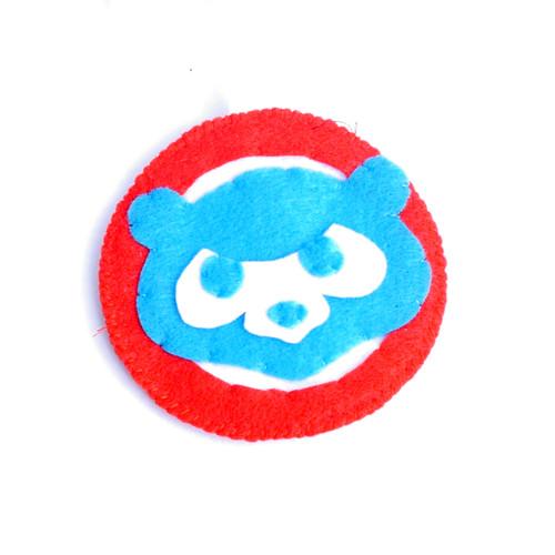 Cubs Face Ornament