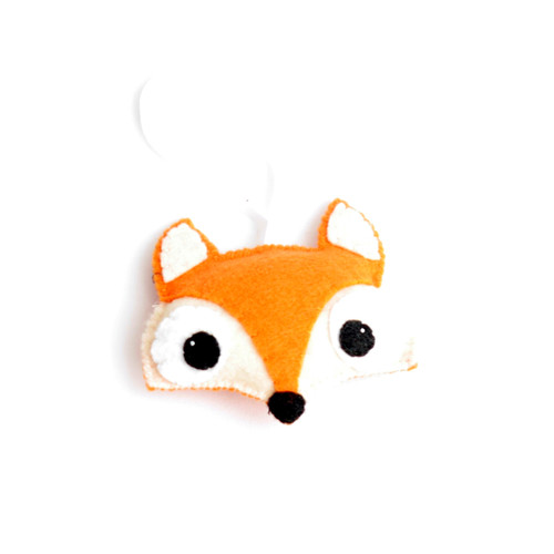 Fox Face Ornament