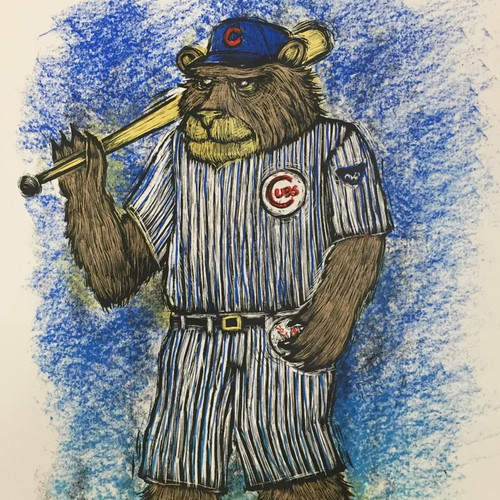 My ode to the 2016 World Series Champs- The Chicago Cubs!!!!