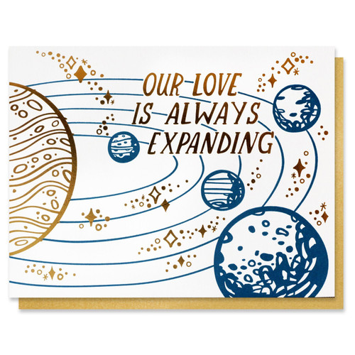 Our Love Is Expanding Card