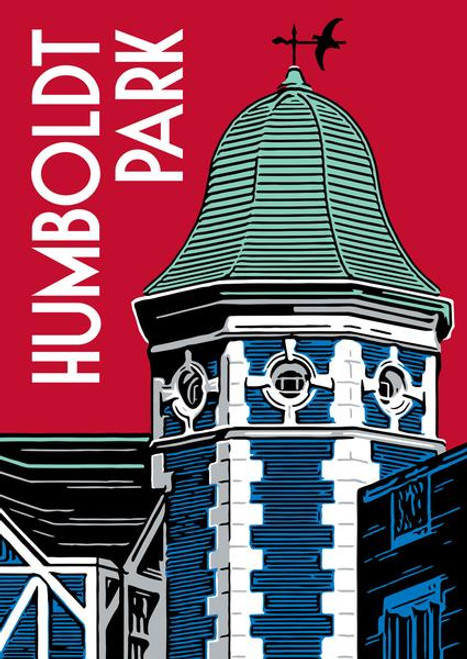 Humboldt Park Poster