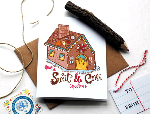 Sweet Cozy Christmas Card