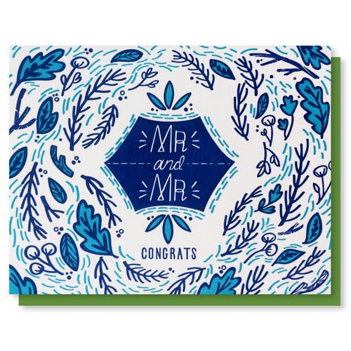 Mr & Mr Wedding Card