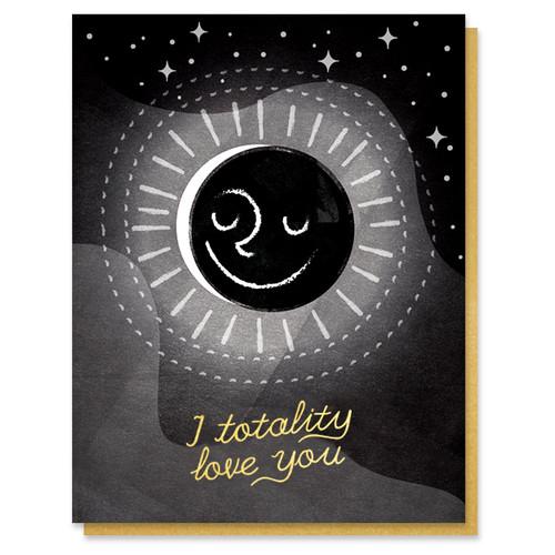 Eclipse Love Card