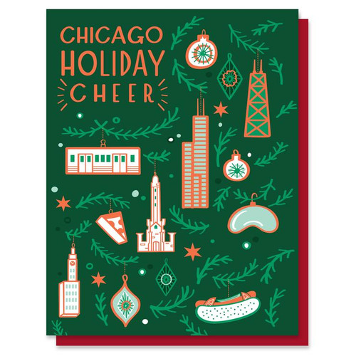 Chicago Ornaments Card