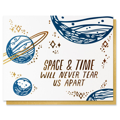Space & Time Card