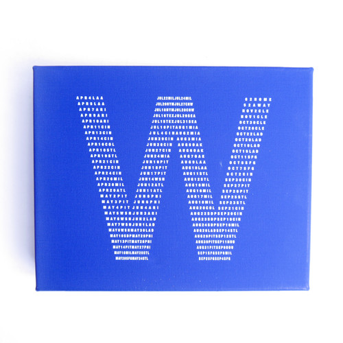 Fly The W 8x10 Wood Block Canvas Print