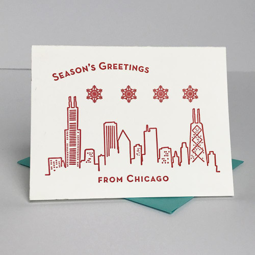 Seasons Greetings Chi Card