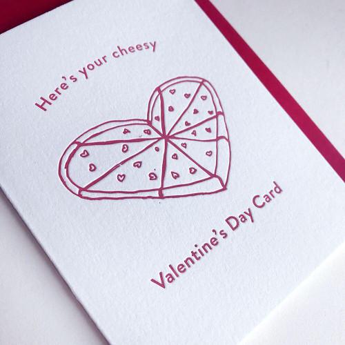 Cheesy Valentine Card