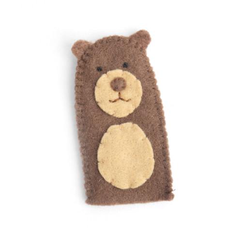 Bear Finger Puppet