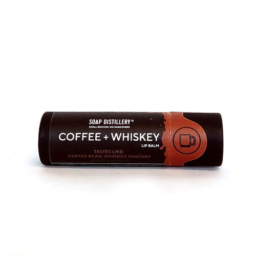 Coffee + Whiskey Lip Balm