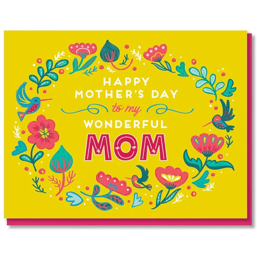 Mother's Day Hummingbirds Card