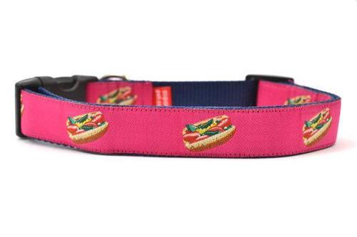"""Hot Dog Collar Pink - Large 16-26"""""""