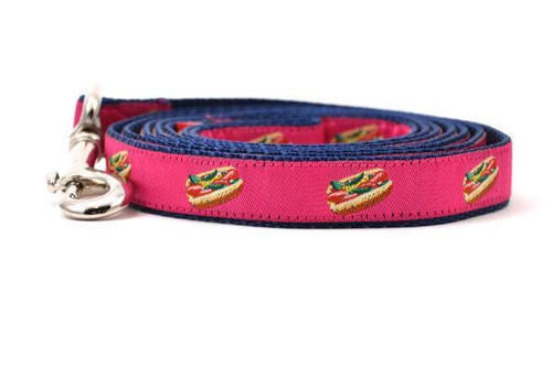 Hot Dog Leash Pink - Small