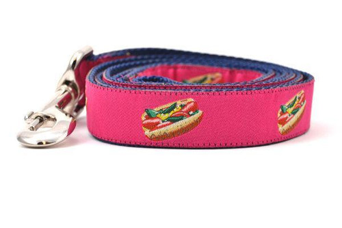 Hot Dog Lead Pink - Large
