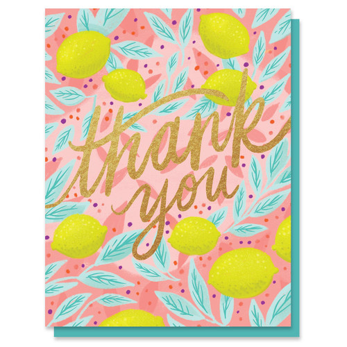 Thank You Lemons Card