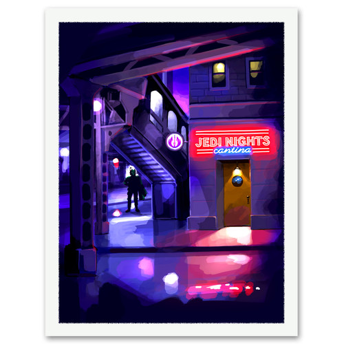 Jedi Nights Cantina Print