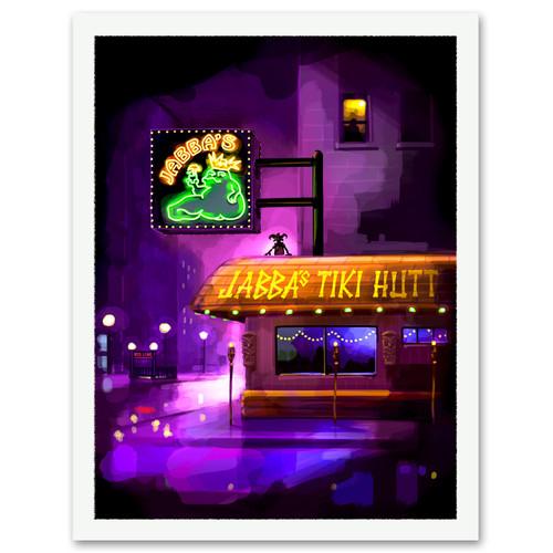 Jabba's Tiki Hutt Print