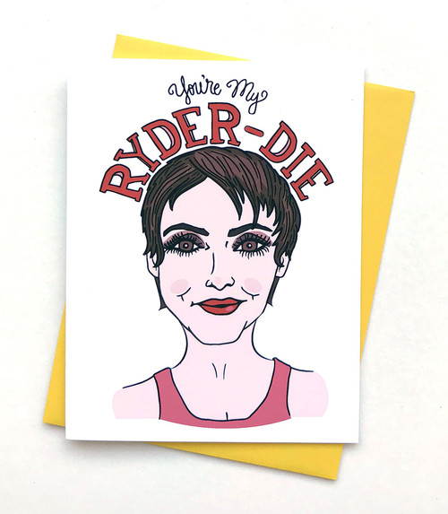 Ryder-die Card
