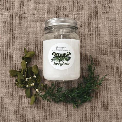 Mistletoe Evergreen Candle
