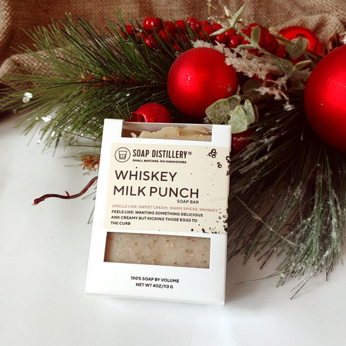 Whiskey Milk Punch Soap