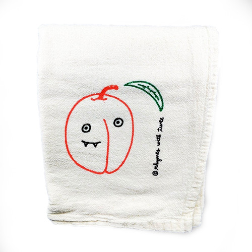Peach Tea Towel