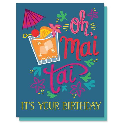 Oh Mai Tai Card