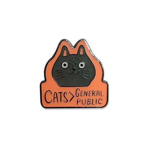 Cats > General Public Pin