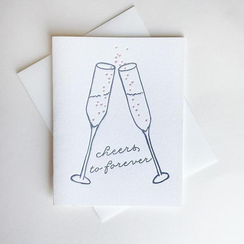 Cheers To Forever Card