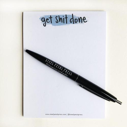 Get Shit Done Pocket Notepad