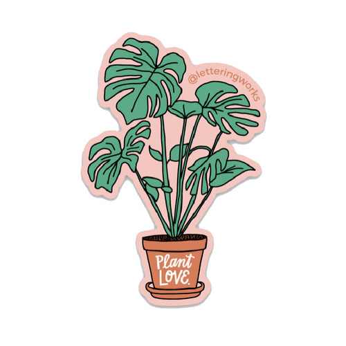 Plant Love Sticker